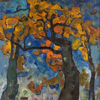 Shcherbakov Igor. Autumn oaks
