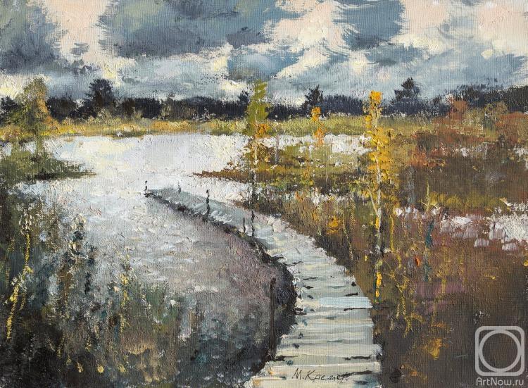 Кремер Марк. Мостки на озере