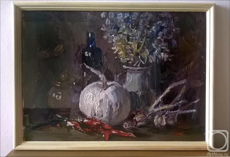 Иванов Александр. Натюрморт с красными перцами.