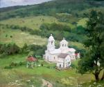 Crimea, the village of Laki. Church of St. Luke. Shevchuk Vasiliy