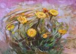 Рыбина-Егорова Алена. Весенние цветы