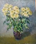 Ягужинская Анна. Жёлтые хризантемы