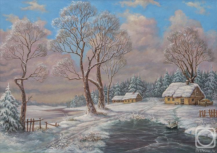 Русаков Алексей. Зима, декабрь
