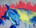 Жулькова Виктория. Сон синего коня
