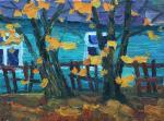 Саулов Олег. Осенние клёны