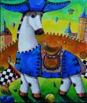 Чугаев Валентин. Синий праздник белого коня