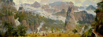 Shevchuk Vasiliy. The Breath of the Great China Mountains