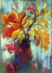 Gerasimova Natalia. Autumn in a jug of water