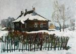 Zhukova Juliya. Winter in Trigorskoye