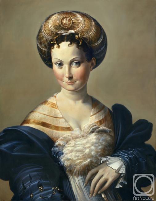 Рыбакова Ольга. Портрет женщины