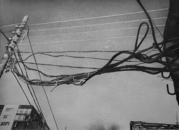 Threads (City Landscape Pencil). Denisenko Alvina