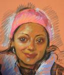 Добровольская Гаянэ. Анхела из Колумбии