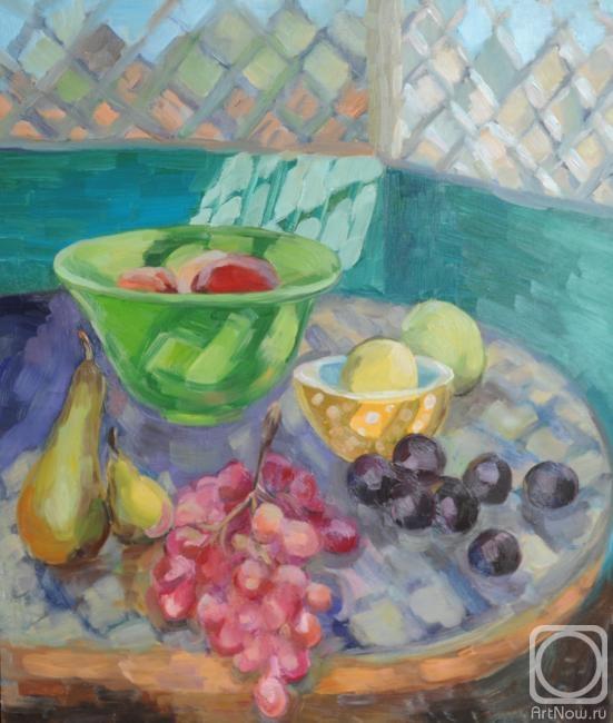 Явишева Татьяна. Натюрморт с фруктами.