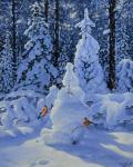 Потас Олег. Снегири