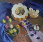 Дыня и фрукты