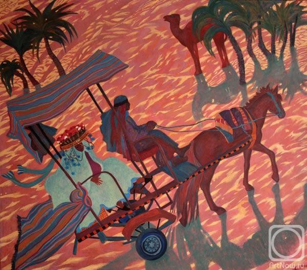 Hohriakova Anastasia. A Ride in Sahara