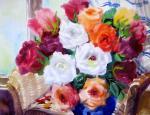 Михальская Екатерина. Розы у окна