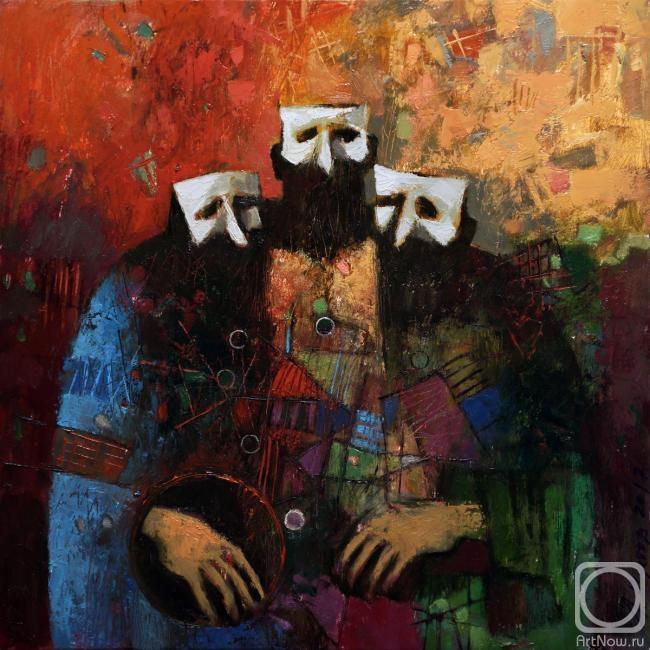 Шустов Андрей. Портрет с двумя неизвестными