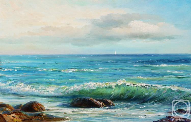 Святошенко Андрей. Море.Шторм.