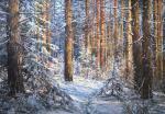 В сосновом лесу. Панов Эдуард