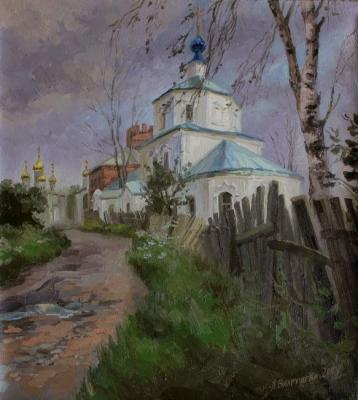 Vahrusheva Lyubov. Before the storm