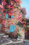 Апазидис Димитрис. Дом с голубыми ставнями