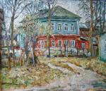 """Картина """"Дом в Киржаче"""". Ягужинская Анна"""