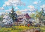 Федоренков Юрий. Цветут сады в начале мая