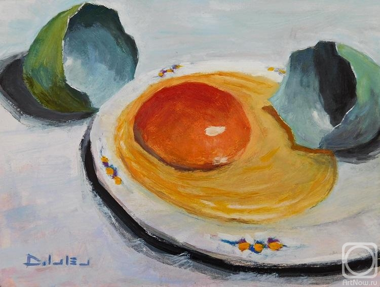 Ivlev Denis. Egg still life