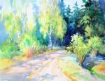 Михальская Екатерина. Весна в лесу