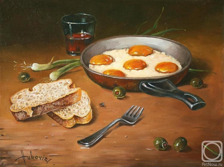 Вукович Душан. Жареные яйца
