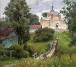 Summer in Kashin. On the way to the temple. Galimov Azat
