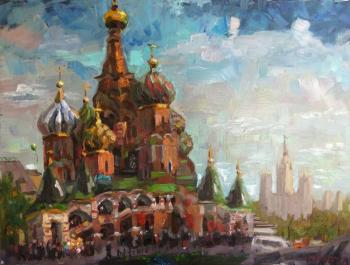 Silaeva Nina. Cathedral of St. Vasily the Blessed