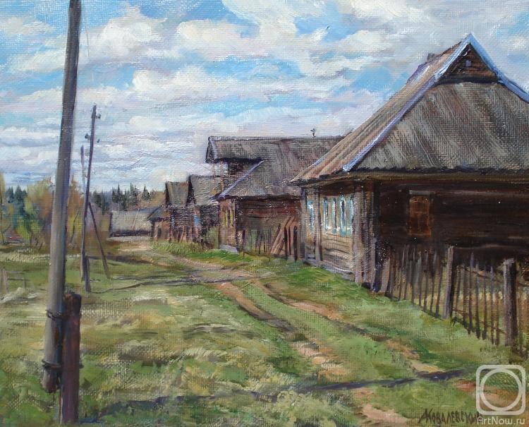 Ковалевский Андрей. Тихий день в деревне