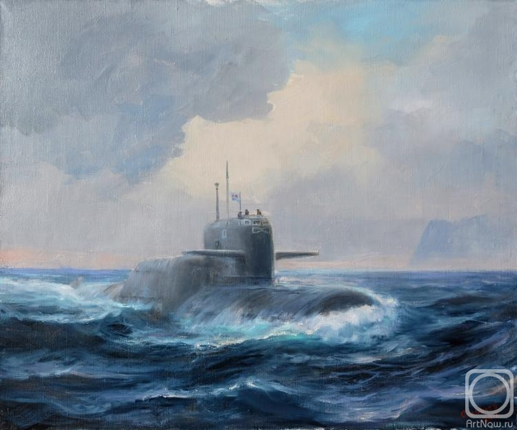Solovev Alexey. Nuclear submarin murena