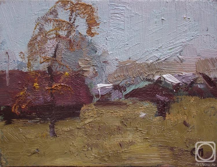 Лисицина Светлана. Этюд.Осень.