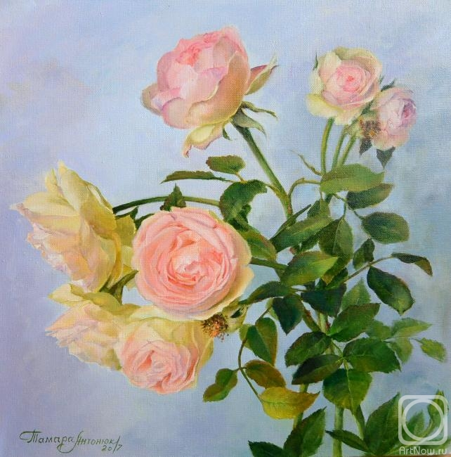 Антонюк Тамара. Розовое настроение.