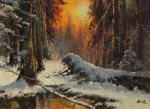 Kremer Mark. Winter in the woods