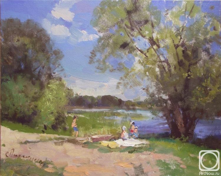 Лисицина Светлана. На реке .