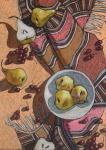 Леонова Наталья. Натюрморт с грушами