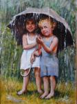 Симонова Ольга. Летний дождь
