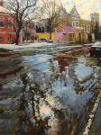 Весеннее солнышко в Колпачном переулке. Волков Сергей