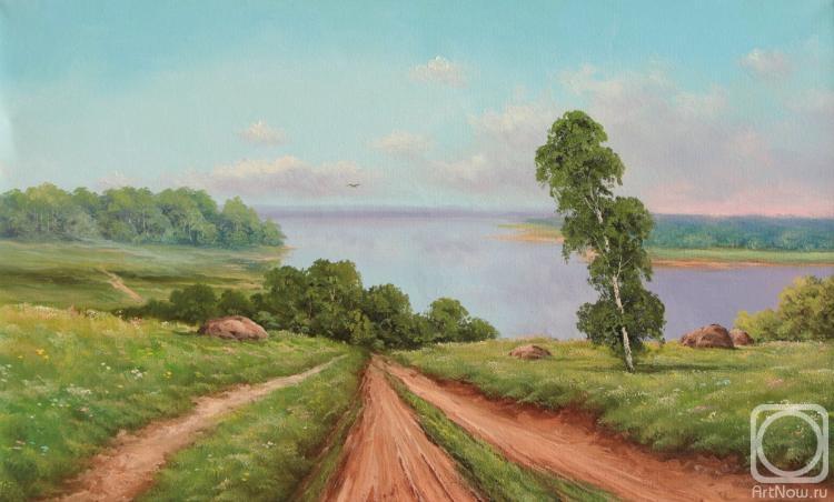Лямин Николай. Над озером