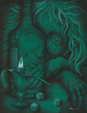 «Капля абсента». Персональная выставка Александра Аросева-Каширина. Москва. Alpert Gallery. 5-25.06.2017г.