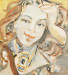 Arkhangelskiy Mikhail. Student Masha's portrait