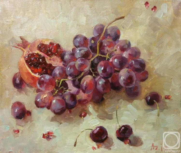 Сулайманов Азизбек. виноград и черешня