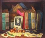 Картины на тему «Натюрморт с книгой»