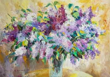 Kruglova Irina. A gentle bouquet of lilac