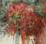 Подгаевская Марина. Красные цветы