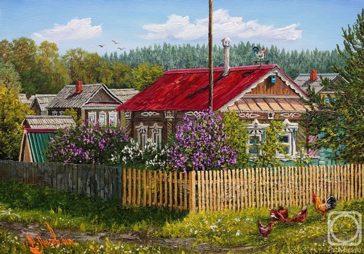 Лысов Юрий. Весна. Цветёт сирень.